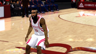NBA 2K13 James Harden Face NBA2K Update