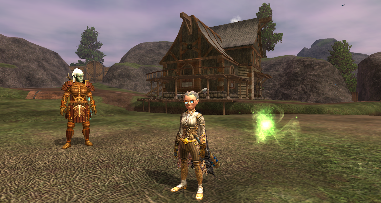 Inventory Full: The Baubbleshire Village Green Preservation Society: EQ2