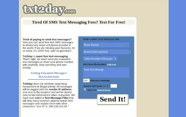 Cara Kirim SMS ke Luar Negeri Secara Gratis-3