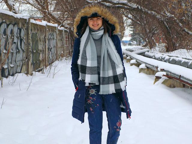 Самый зимний образ. Заказ из Zaful.com!
