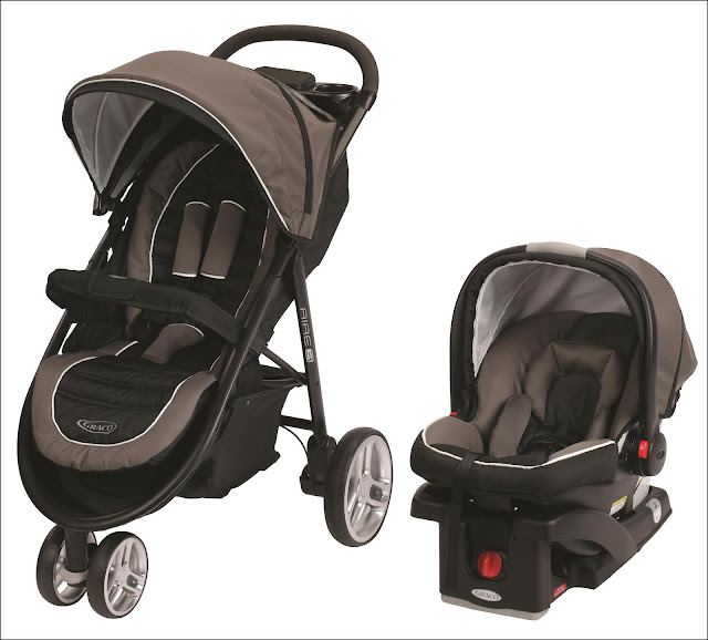 Graco Aire3 Click Connect Travel System Stroller Zeus