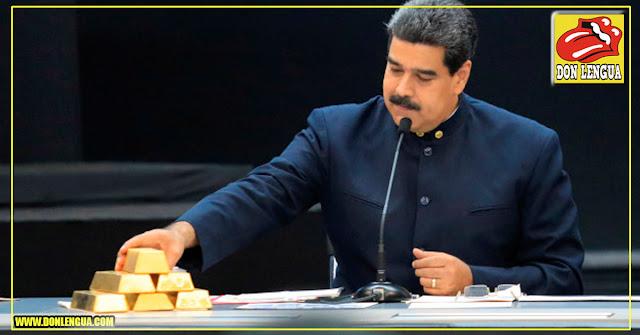 Maduro vendió 9.000 kilos de Oro sin importar sanciones de Estados Unidos
