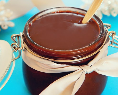 http://honestcooking.com/easy-hot-fudge-sauce/