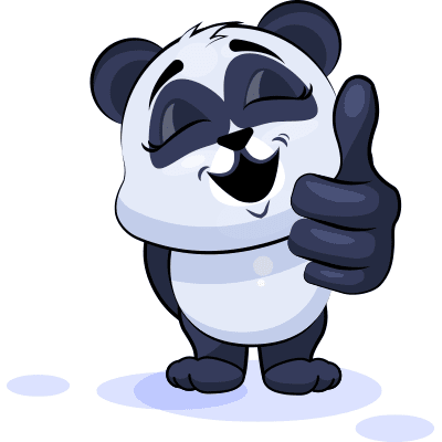 Thumbs Up Panda