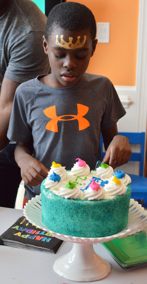 Highlights From Zion's Roblox Birthday Party-design addict mom