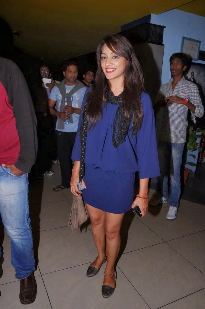 Glorious Krishikaa photos at satya 2 premiere show