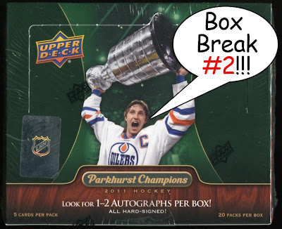 2011-12 Parkhurst Champions box break #2