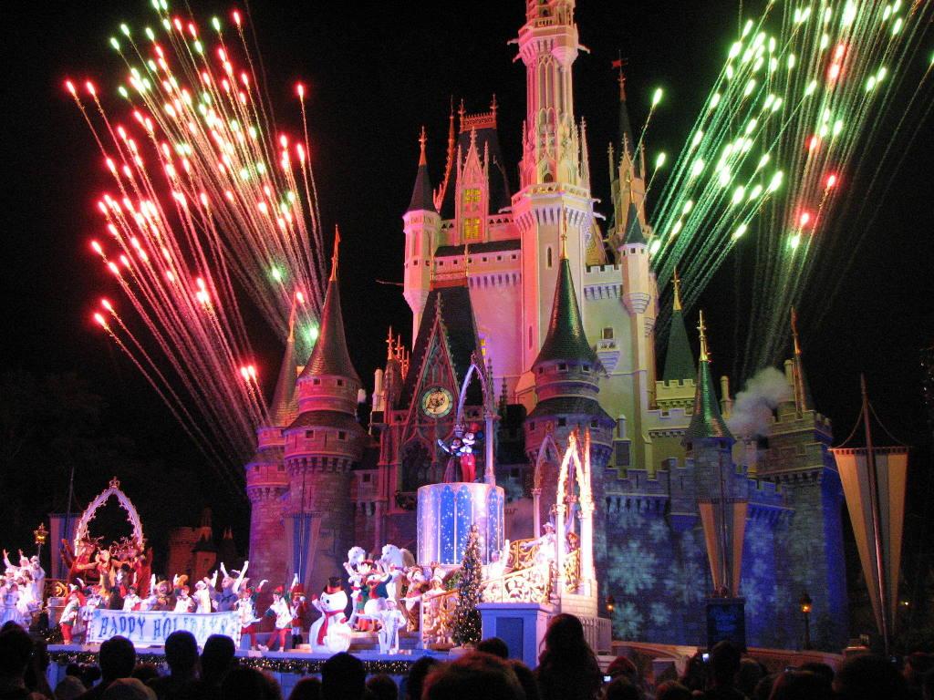 show de fogos do parque magic kingdom na disney dicas da flórida