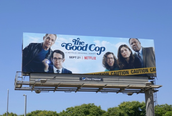 Good Cop Netflix series billboard