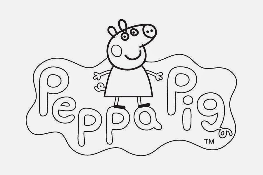 Desenhos de Peppa Pig para colorir, pintar, imprimir ou preparar atividades!