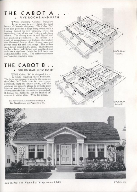 Gordon-Van Tine Cabot 1936 catalog