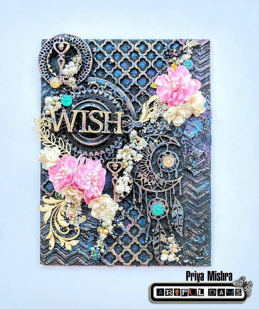 Mixed Media Canvas: Wish