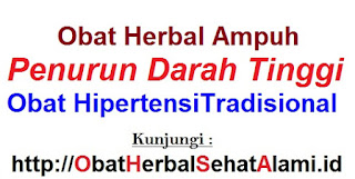 Jual OBAT HERBAL ampuh ALAMI Tekanan Darah Tinggi HIPERTENSI tradisonal