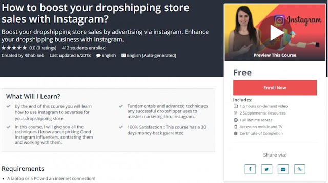 [100% Free] How to boost your dropshipping store sales with Instagram?