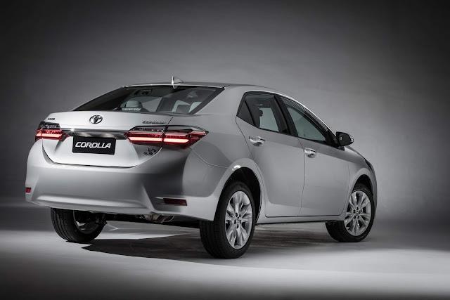 Novo Toyota Corolla 2018 - traseira
