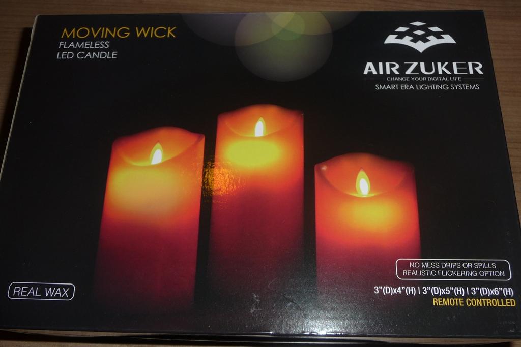Mein Testblog: Nicki testet die Air Zuker LED Kerzen mit