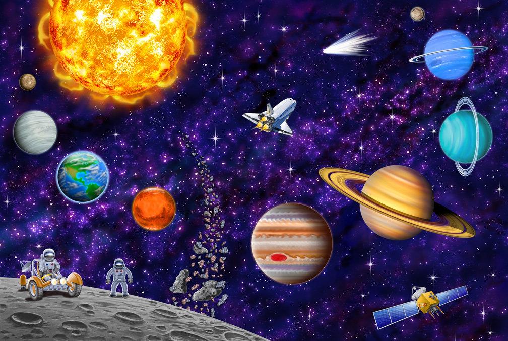 Картинки о космосе для детей дошкольников