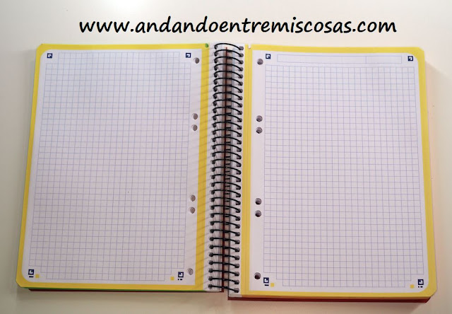 Cuaderno A5 Oxford
