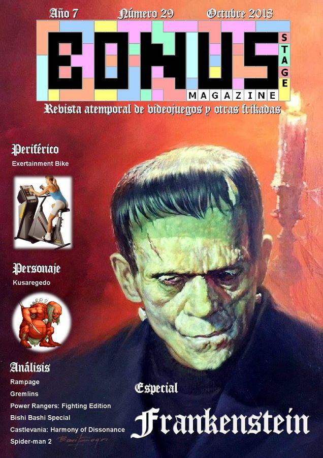 Bonus Stage Magazine #29 Especial Frankenstein (29)