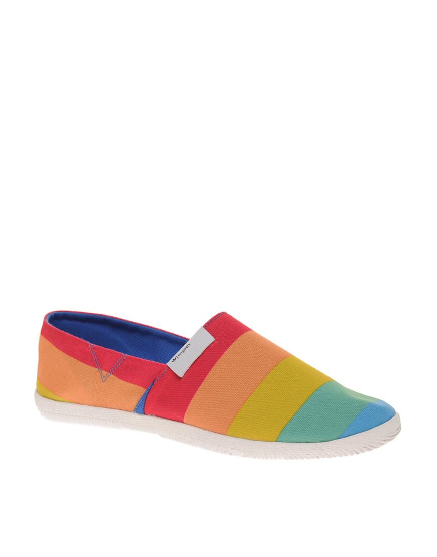 Adidas Multicolor Originals Toe Touch Trainers for men