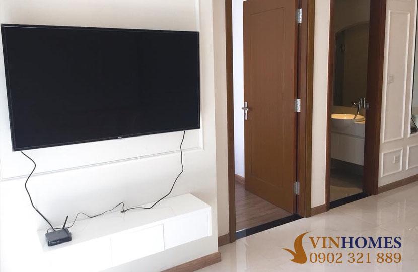 Căn hộ Vinhomes 1 phòng ngủ cho thuê giá rẻ tòa nhà L2 - hinh 3
