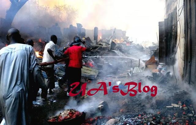 Inferno Razes 900 Shops At Bida Market