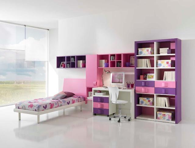 id e d co chambre ado fille moderne. Black Bedroom Furniture Sets. Home Design Ideas