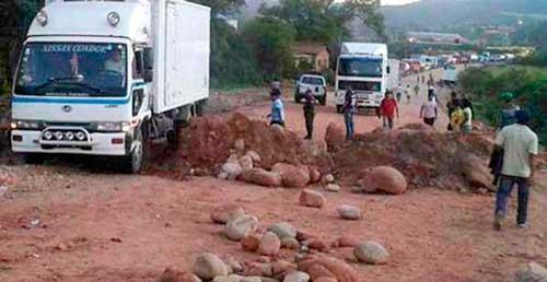 Policía levanta el bloqueo en Yacuiba tras 4 días