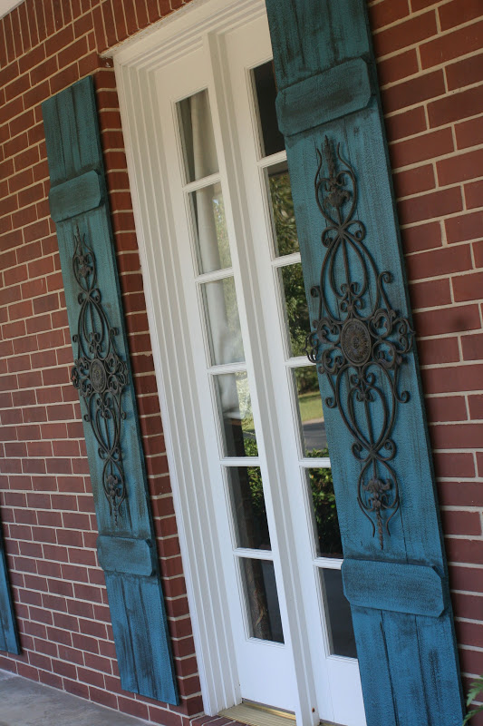 Decorative Metal Shutters For Living Room Interior Houston Tx: Nellie's Cottage: DIY Shutters...a Little Bit Of New
