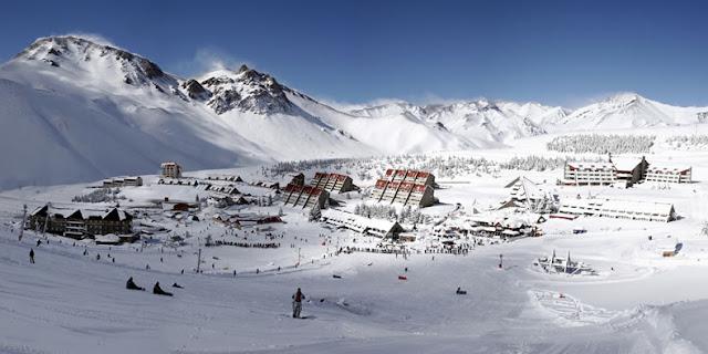 Estação de esqui las Leñas em Mendoza