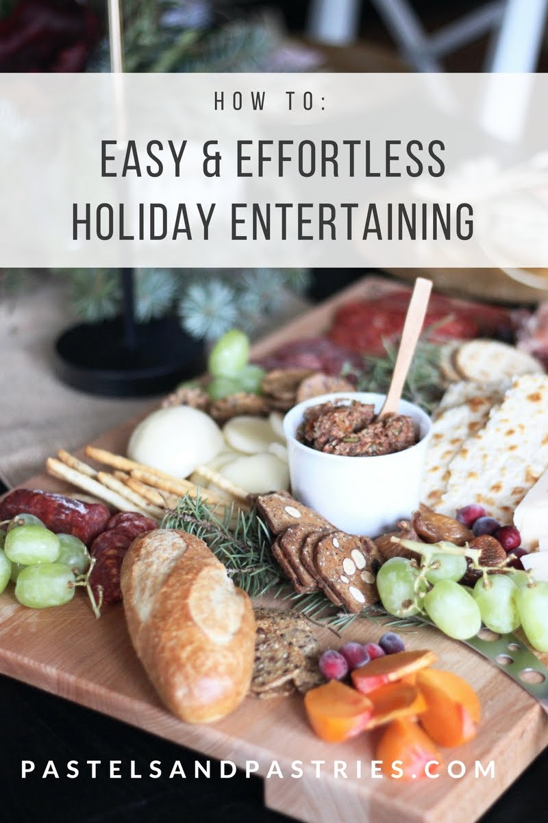Easy & Effortless Holiday Hosting, Zwilling Cheese Board and Knife Giveaway, Kelly's Bake Shoppe, The Fix + Co