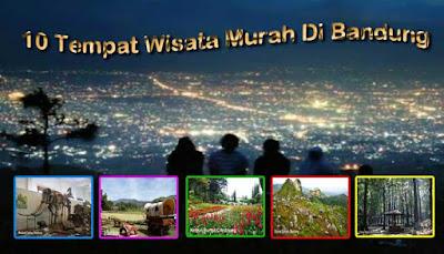 10 Tempat Wisata Murah Di Bandung
