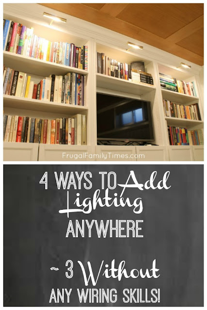bookcase lighting how to install