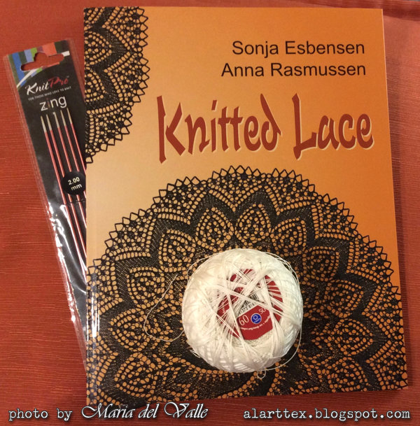 Knitted Lace book by Sonja and Anna