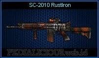 SC-2010 RustIron