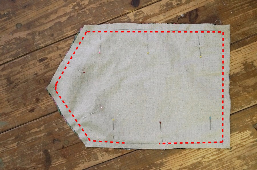 money holder    fabric envelope diy