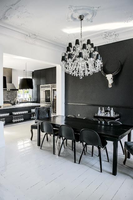Danish Villa with Eclectic Interiors
