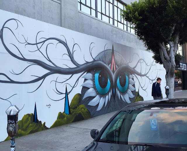 Our friend Jeff Soto is currently in sunny Los Angeles, Calfirornia where he just finished working on a brand new street piece.