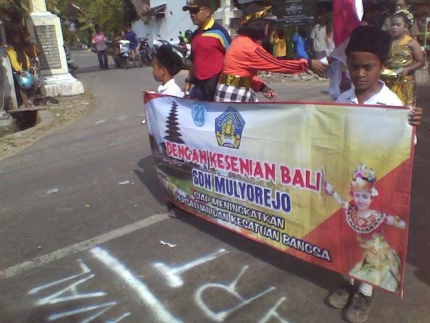 Foto SDN Mulyorejo Festival Karnaval Kecamatan Singgahan Tuban 2014