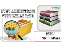 Contoh Buku Induk Siswa TK/PAUD