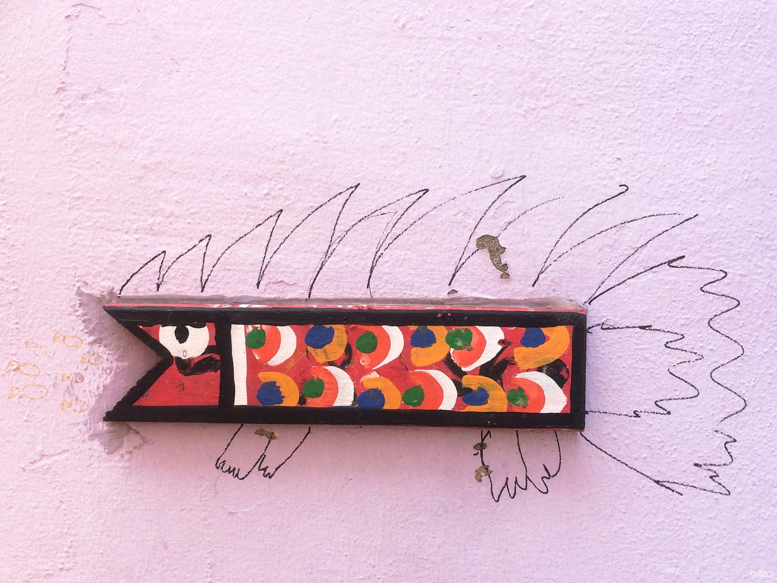 Seoul, Korea - Summer Study Abroad 2014 - Gamcheon Culture Village fish wall art