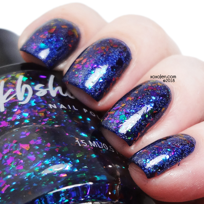 xoxoJen's swatch of KBShimmer Yes Weekend!