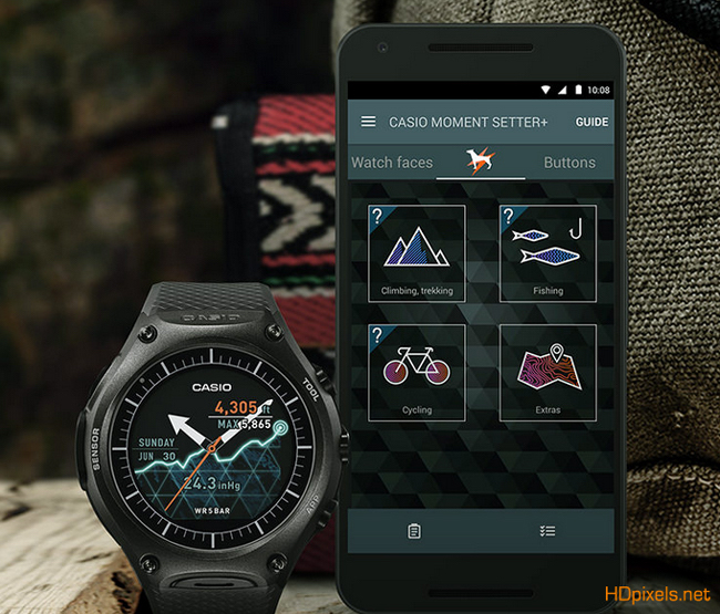 Casio's $500 Adventure Adroid Wear Smartwatch