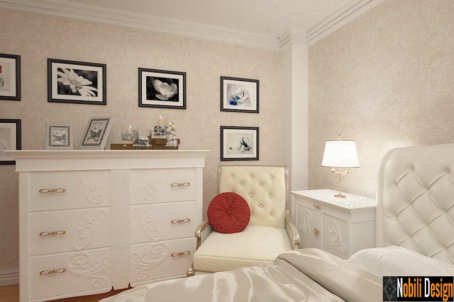 Design interior dormitor clasic de lux casa Bucuresti-Design Interior-Amenajari Interiore