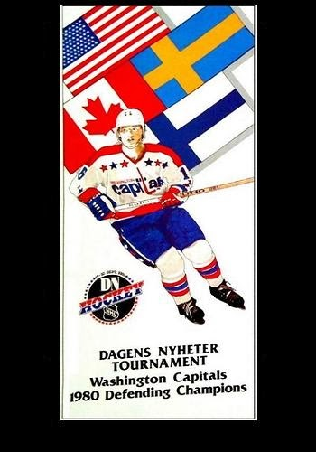 The Capitals returned to Sweden in 1981 (Book Pg. 176)