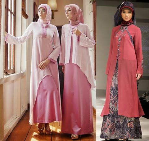 model baju muslimah bahan sifon