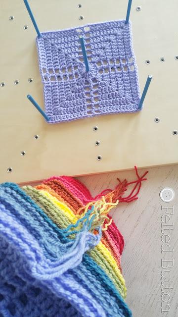 Scheepjes Blocking Board for crochet projects