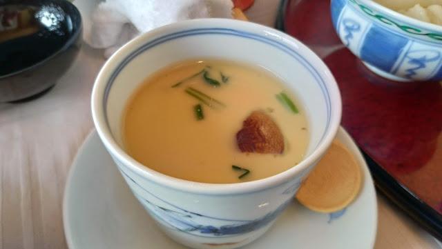 長崎市お食事処あかまの茶碗蒸しあんかけのせ