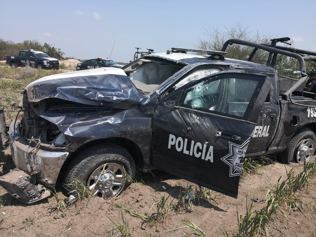 Fotos, Sicarios marucheros madrugan y balean a Federales en Reynosa, Tamaulipas, provocando volcadura