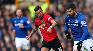 مانشستر يونايتد يتجنب الخساره امام إيفرتون بالتعادل في الدوري الانجليزي